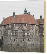 Moated Castle Vischering Wood Print