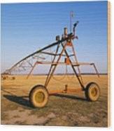 Mobile Irrigation Wood Print