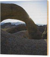 Mobius Arch Alabama Hills California 2 Wood Print