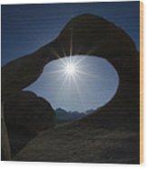 Mobius Arch Alabama Hills California 3 Wood Print