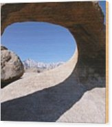 Mobius Arch Wood Print