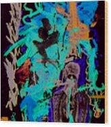 Moca 3 Wood Print