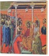 Mockery Of Christ 1311 Wood Print