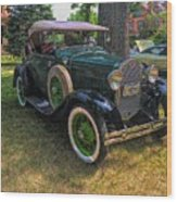 1928 Model A Ford  Wood Print