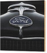Model A Ford Wood Print