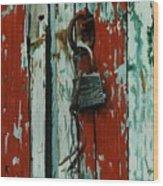 Modelo 112 Wood Print