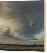 Moderate Risk In South Central Nebraska 012 Wood Print