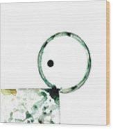 Modern Art - Balancing Act 2 - Sharon Cummings Wood Print