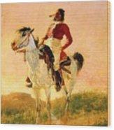 Modern Comanche 1890 Wood Print