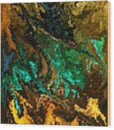 Modern Composition 21 Wood Print