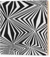 Modern Freaks Wood Print
