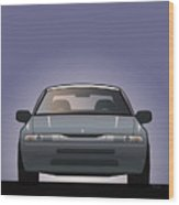 Modern Japanese Icons Subaru Alcyone Svx Wood Print