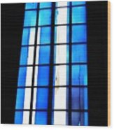 Modern Johannes Schreiter Window Mainz 2 Wood Print