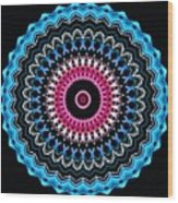 Modern Mandala Art 27 Wood Print