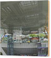 Modern Subway Station Design In Taiwan Wood Print