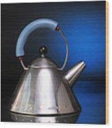 Modern Teapot. Wood Print