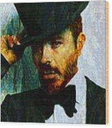 Modern Van Gogh Xiii Wood Print
