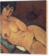 Modigliani: Nude, 1917 Wood Print by Granger