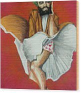 Mohammad Monroe Wood Print