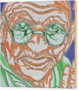 Mohandas Karamchand Gandhi  Wood Print