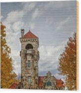 Mohonk Preserve Gatehouse II Wood Print
