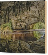 Moira Arch Cave Wood Print