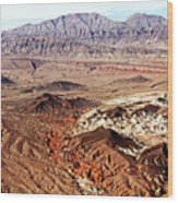 Mojave Desert Magic Wood Print