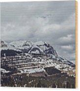 Molas Pass Summit Wood Print