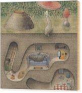 Mole Wood Print