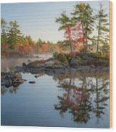 Molega Lake, Nova Scotia Wood Print