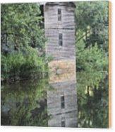 Mollohan Mill 3 Wood Print by Carolyn Postelwait