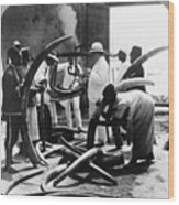 Mombasa: Ivory Trade Wood Print