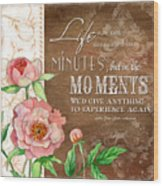 Moments Wood Print