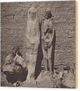 Momies Egyptiennes (egyptian Mummies) Wood Print