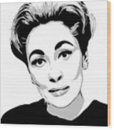 Mommie Dearest - Clean Up This Mess - Pop Art Wood Print