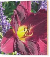 Mom's Lilly Wood Print