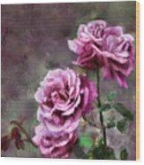 Moms Roses Wood Print