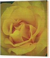 Moms Yellow Rose Wood Print