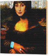 Mona Cher Wood Print
