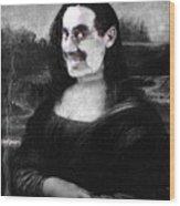 Mona Grouchironi Wood Print