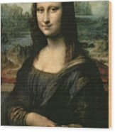 Mona Lisa Wood Print by Leonardo da Vinci