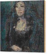 Mona Lisa N.5 Wood Print