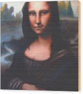 Mona Lisa Replica Wood Print