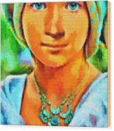 Mona Lisa Young - Pa Wood Print