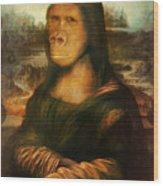 Mona Rilla Wood Print