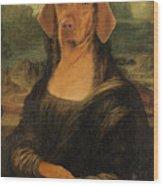 Mona Visla Wood Print