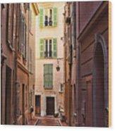 Monaco Street Wood Print