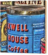 Monarch Maxwell House 761 Wood Print