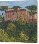 Monastero Wood Print