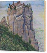 Monastery of Aghia Triada Wood Print